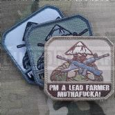 Mil-Spec Monkey Velcro Morale Patch Lead Farmer